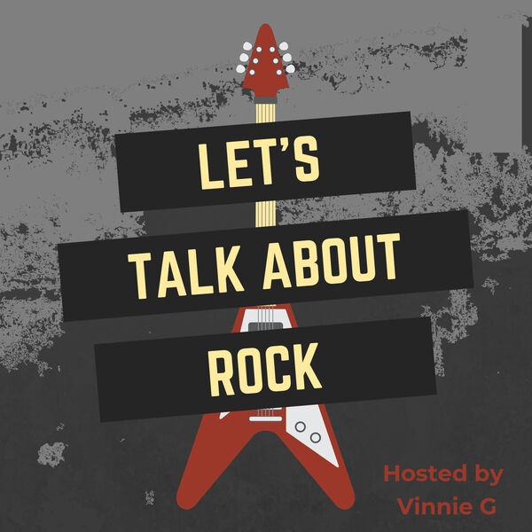 Let's Talk About Rock – Podcast Logo / Cover Art